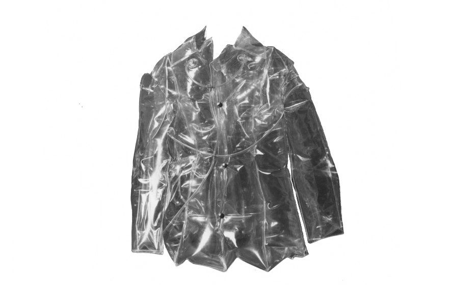 """Inflatable jacket"", suit,  polyurethane film  1700 x 800 mm"